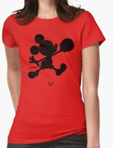Bucket Club Mickey Jumpman 2  Womens Fitted T-Shirt