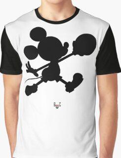 Bucket Club Mickey Jumpman 2  Graphic T-Shirt