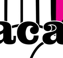 Cacao! Portlandia Pink Sticker
