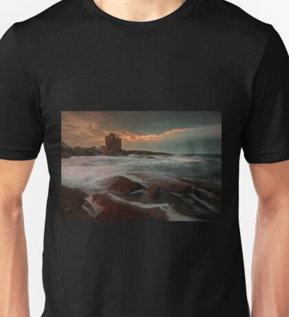 Windy Gloaming at Portencross Unisex T-Shirt