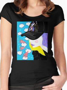 Hope U Drop Dead Women's Fitted Scoop T-Shirt