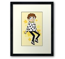 Starry Sweater Framed Print