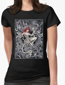 Rat Queen Womens Fitted T-Shirt