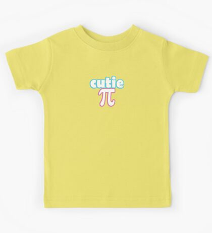 Cutie Pi Kids Tee
