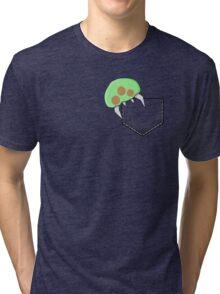 Metroid Pocket Tri-blend T-Shirt