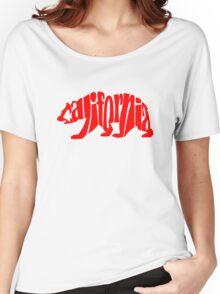 red california bear Women's Relaxed Fit T-Shirt