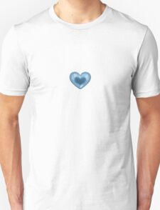 Blue Heart Unisex T-Shirt