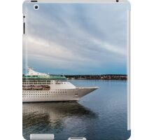 Cruise Ship Sailing at Dusk iPad Case/Skin