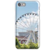 Ferris Wheel in Atlanta iPhone Case/Skin