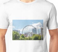 Ferris Wheel in Atlanta Unisex T-Shirt