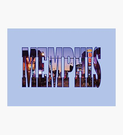 Memphis Photographic Print