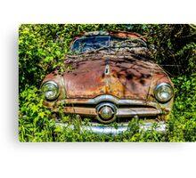 Rusty Ford Canvas Print