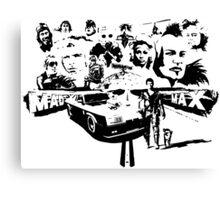 Mad Max Tribute Canvas Print