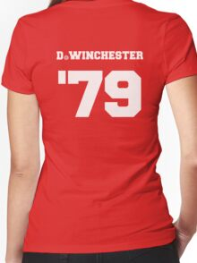 D. Winchester Women's Fitted V-Neck T-Shirt