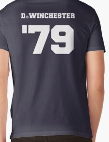 D. Winchester Mens V-Neck T-Shirt