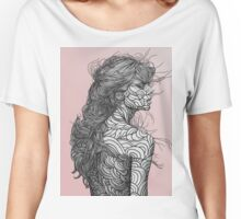 pink sky Women's Relaxed Fit T-Shirt