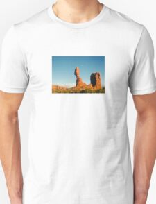 Balanced Rock Holga Style Photograph T-Shirt