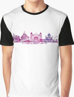 Helsinki skyline Graphic T-Shirt