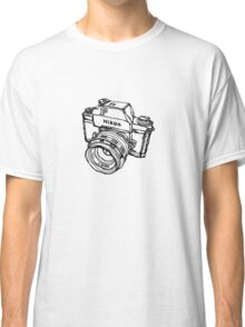 Nikon F Classic Film Camera Illustration Classic T-Shirt
