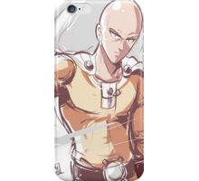 Saitama (tribute) iPhone Case/Skin