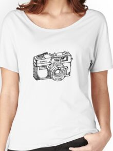Canon Canonet QL17 GIII Rangefiner Camera Women's Relaxed Fit T-Shirt