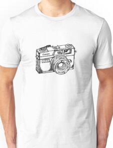 Canon Canonet QL17 GIII Rangefiner Camera Unisex T-Shirt