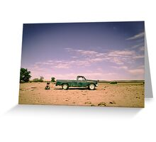 Lonely Pickup Greeting Card
