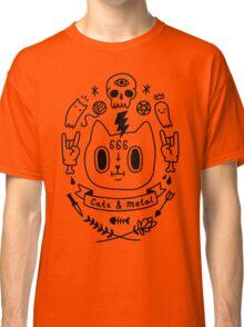 Cats & Metal Classic T-Shirt