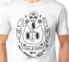 Cats & Metal Unisex T-Shirt