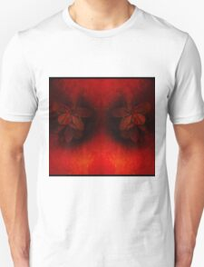 Red Giant With Rainy Flowers In His Eyes Unisex T-Shirt