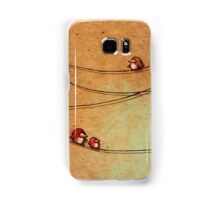 Birds On A Wire Samsung Galaxy Case/Skin