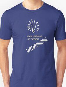Evil Genius At Work. T-Shirt