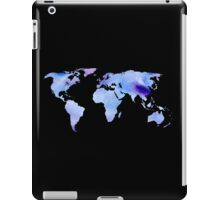 watercolor continents iPad Case/Skin