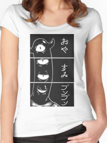 goodnight, punpun. Women's Fitted Scoop T-Shirt