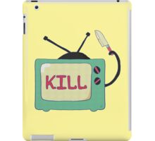 Tv Kills iPad Case/Skin