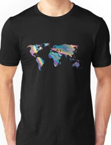 holographic continents Unisex T-Shirt