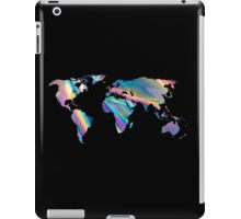 holographic continents iPad Case/Skin