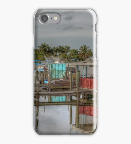 Olde Fish House Marina & Restaurant  iPhone Case/Skin