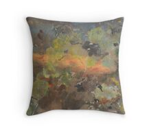 Summer Pond 2 Throw Pillow