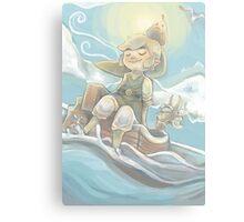 Sail Away (Legend of Zelda: Wind Waker) Canvas Print