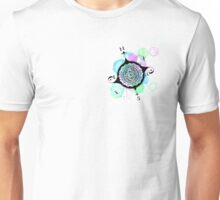 Radial Design Compass Redone Unisex T-Shirt