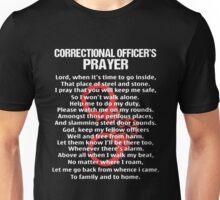 Correctional Officer's Prayer Unisex T-Shirt