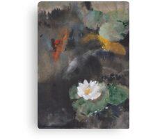 Pond Study Canvas Print