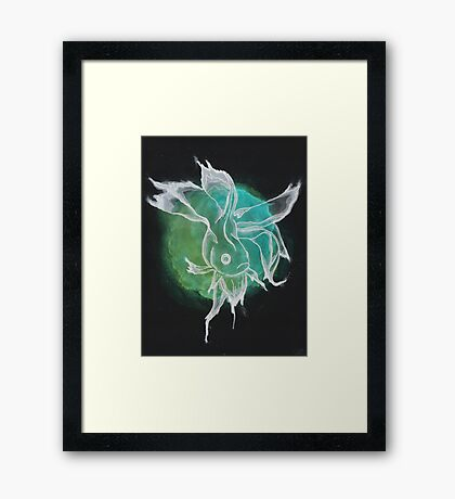 Beta Fish Print Framed Print