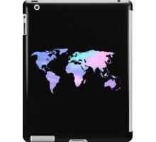 watercolor sky continents iPad Case/Skin