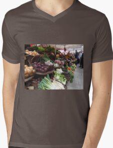 Beaune Market Mens V-Neck T-Shirt