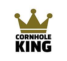 Cornhole king Photographic Print