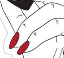 Nails and Lipstick Sticker