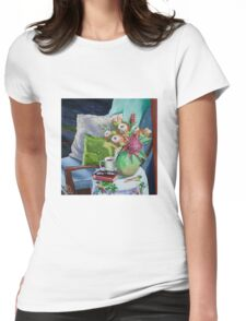 Favorite reading spot  Womens Fitted T-Shirt