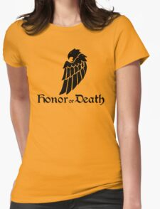 Honor or Death Womens Fitted T-Shirt